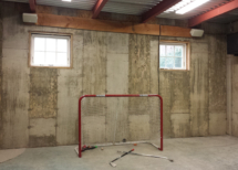 Hockey rink Sonance Mariner speakers