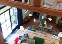Pool house loft