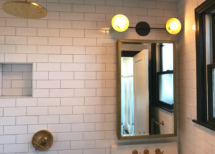 Studio bath Lutron lighting control