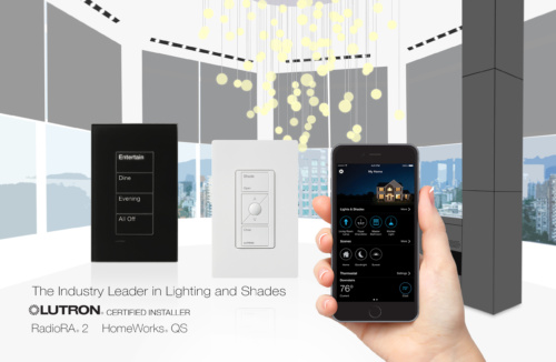 Lutron Homeworks QS + RadioRa2 Certified Installers | Old Cove ...